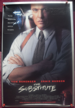The Substitute (1996) - Tom Berenger | US Movie Poster